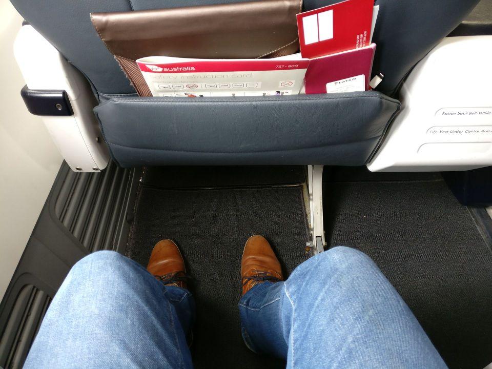 Virgin Australia Domestic Business Class Seat Pitch