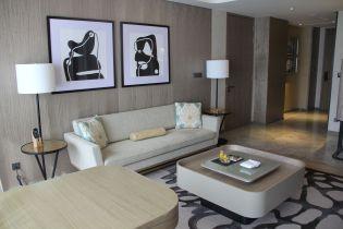 Conrad Manila King Premier Suite Living Room