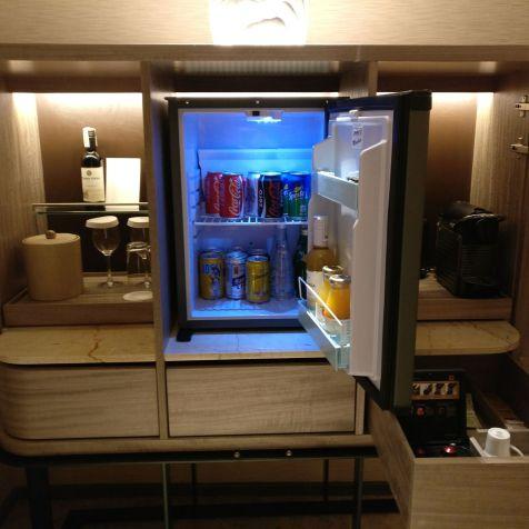 Conrad Manila King Premier Suite Minibar