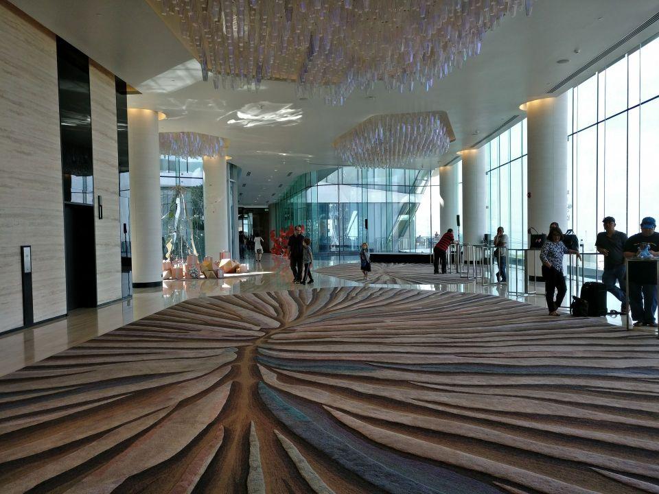 Conrad Manila Lobby