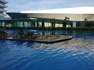 Conrad Manila Pool