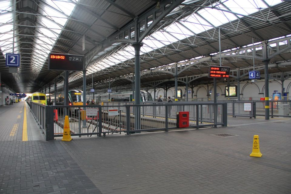 Dublin Train Station