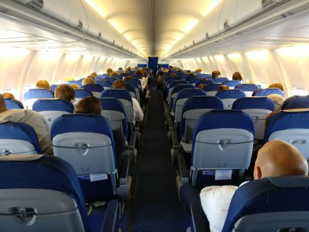KLM Economy Class Boeing 737 Cabin