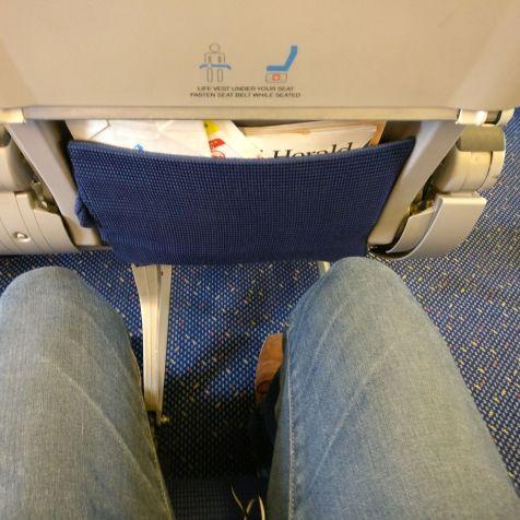KLM Economy Class Boeing 737 Seat Pitch