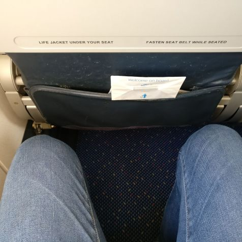 KLM Economy Class Embraer 190 Seat Pitch