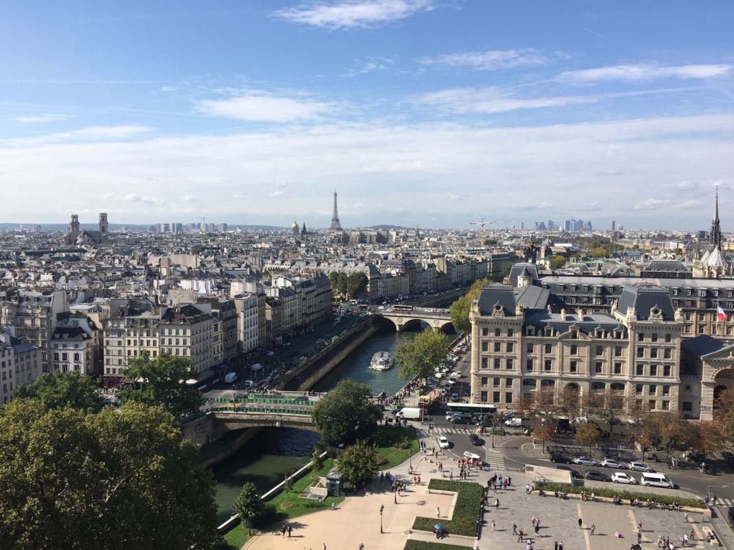 Notre-Dame view