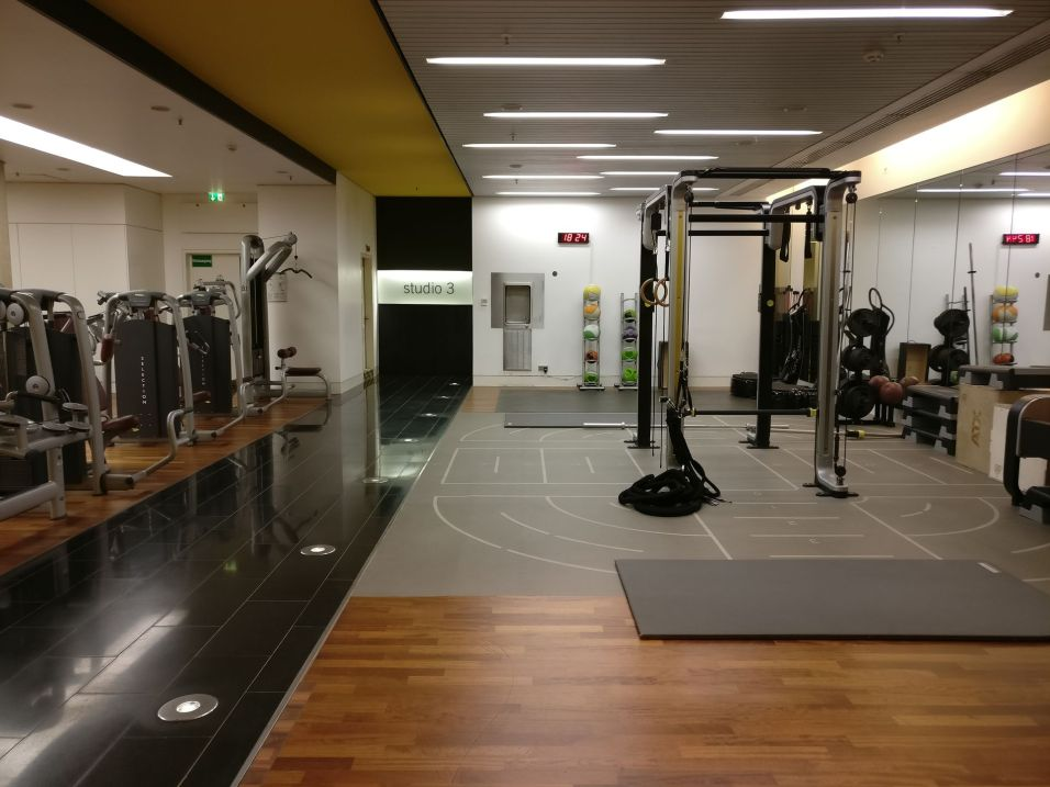 InterContinental Düsseldorf Gym Holmes Place