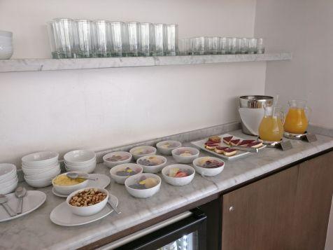 LATAM Lounge Santiago Buffet