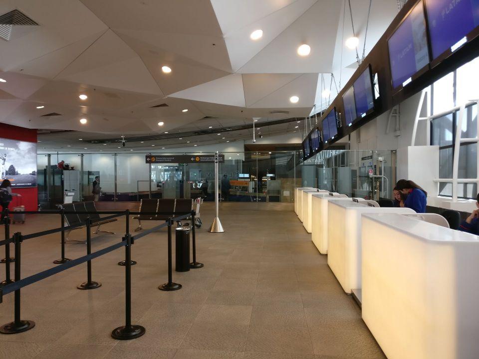 LATAM Premium Check-in Santiago