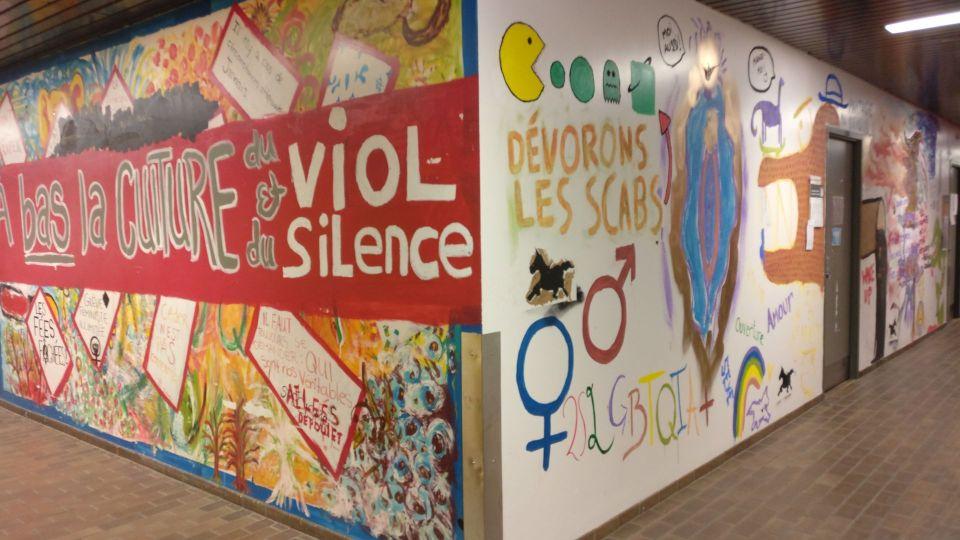 UQAM Montreal Grafitti