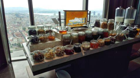Hilton Bomonti Istanbul Executive Lounge Breakfast
