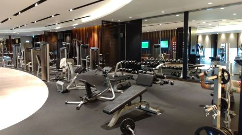 Hilton Bomonti Istanbul Gym
