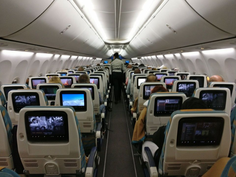 Oman Air Economy Class Boeing 737
