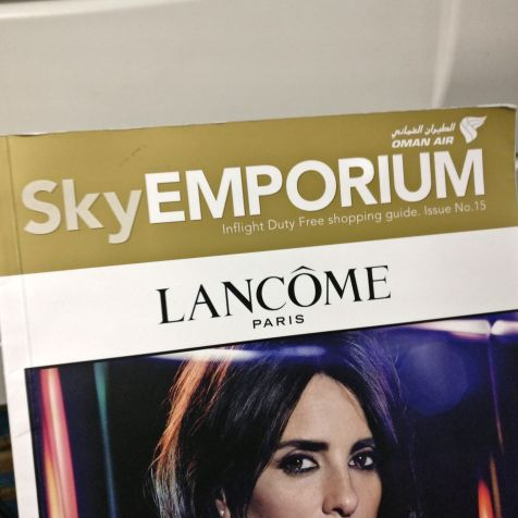 Oman Air Economy Class Magazine