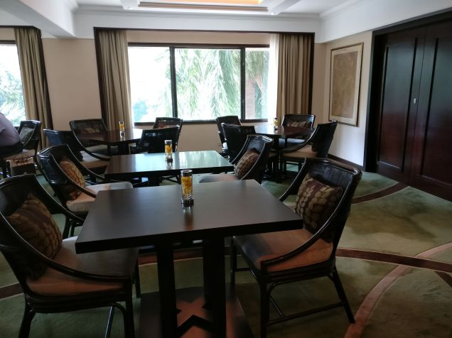The Peninsula Manila Club Lounge