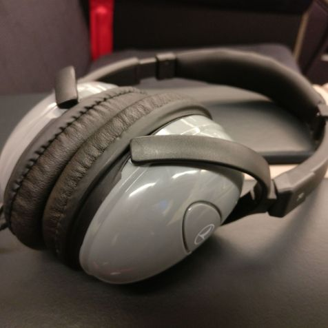 Turkish Airlines Business Class Airbus A330-300 Headphones