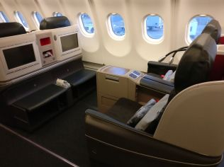 Turkish Airlines Business Class Airbus A330-300 Seat
