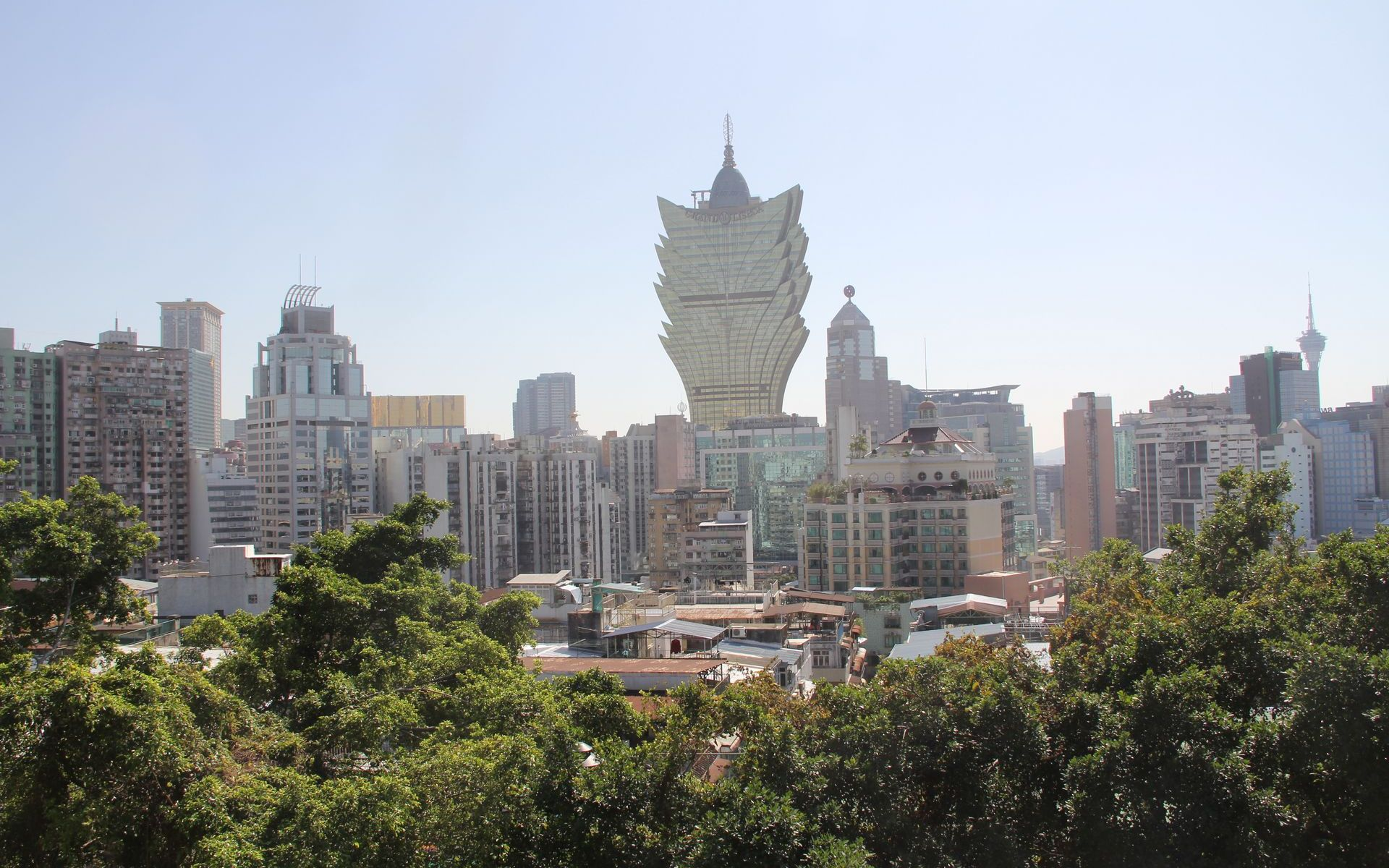 Macao View from Monte Fort
