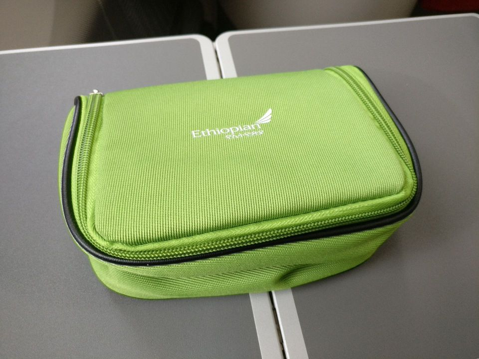 Ethiopian Airlines Business Class Boeing 787 Amenity Kit