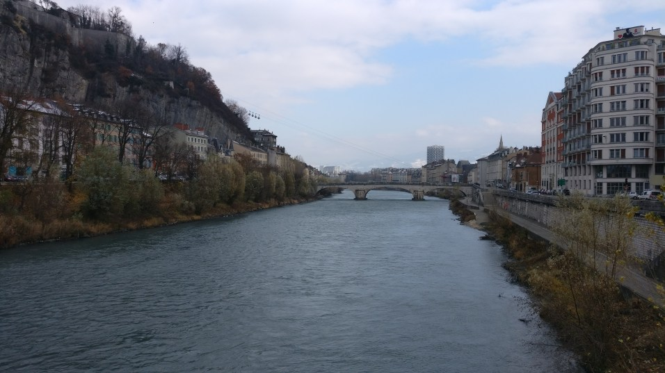 Grenoble Isère River