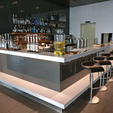 Lufthansa First Class Lounge Munich Bar