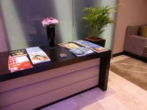 Oman Air Lounge Muscat Magazines