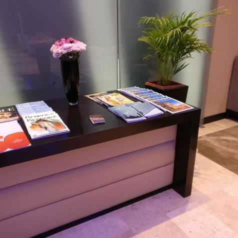 Oman Air Lounge Muscat Magazines
