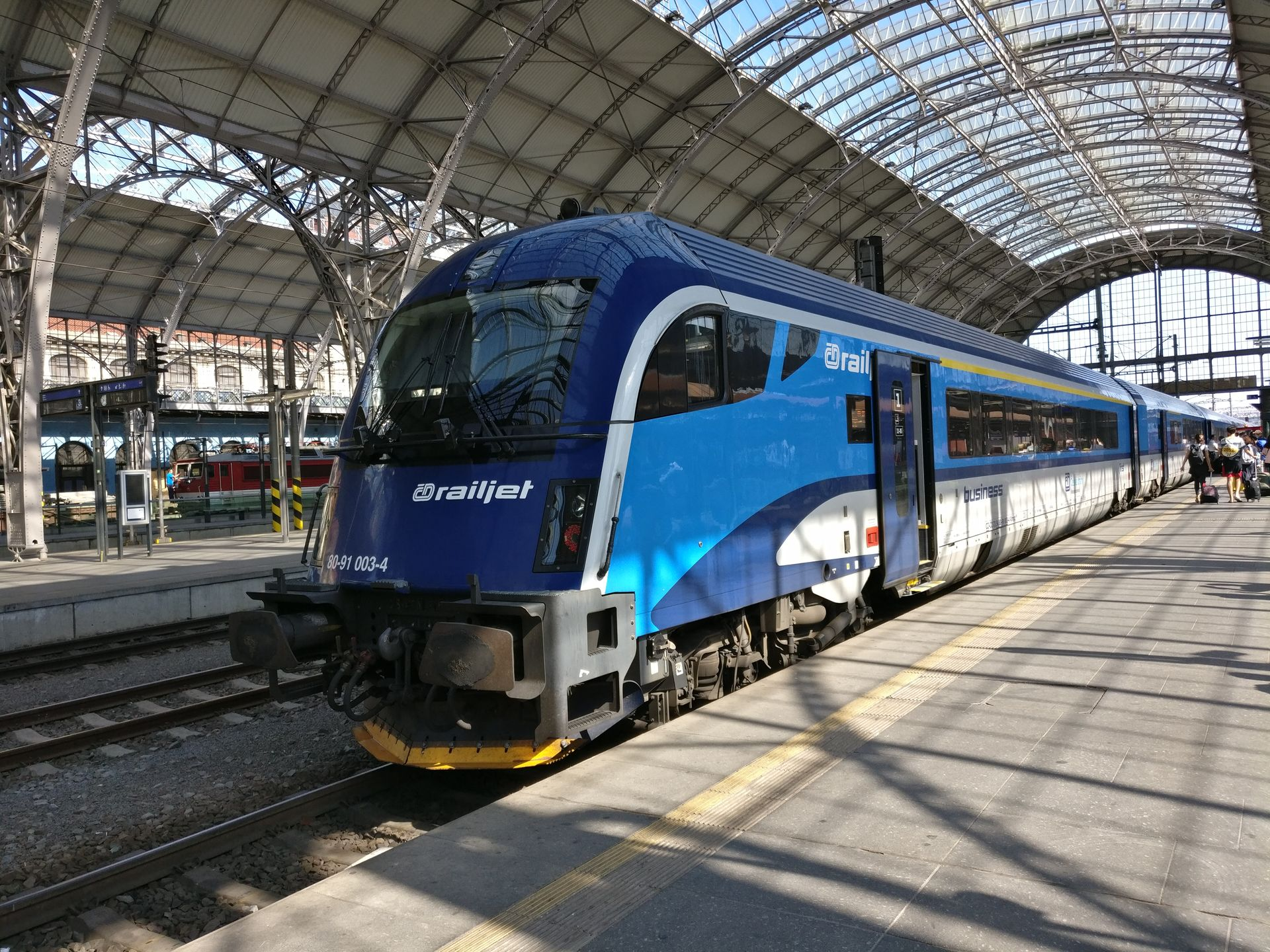 Railjet Prague