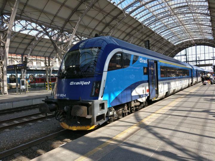 Railjet Prague