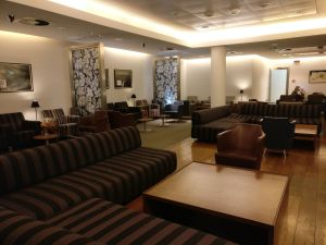 British Airways Lounge Milan Seating