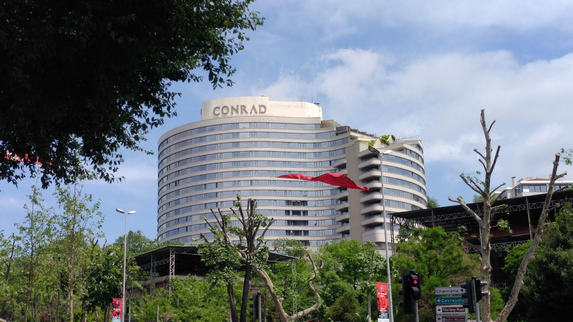 Conrad Istanbul Exterior