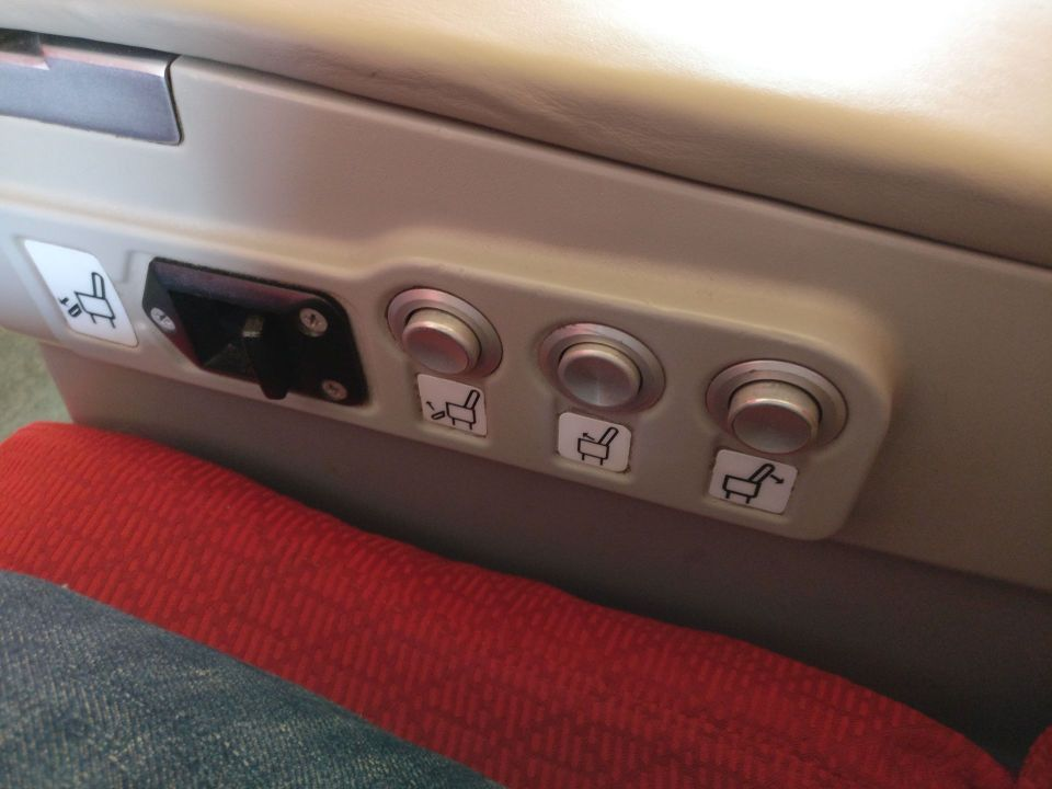 Ethiopian Airlines Business Class Boeing 737 Seat