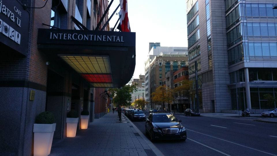 InterContinental Montreal Entrance