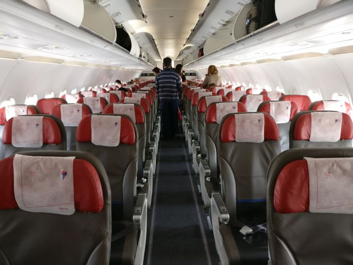 LATAM Economy Class Airbus A320 Seating