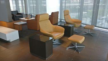 Lufthansa First Class Terminal Frankfurt Seating