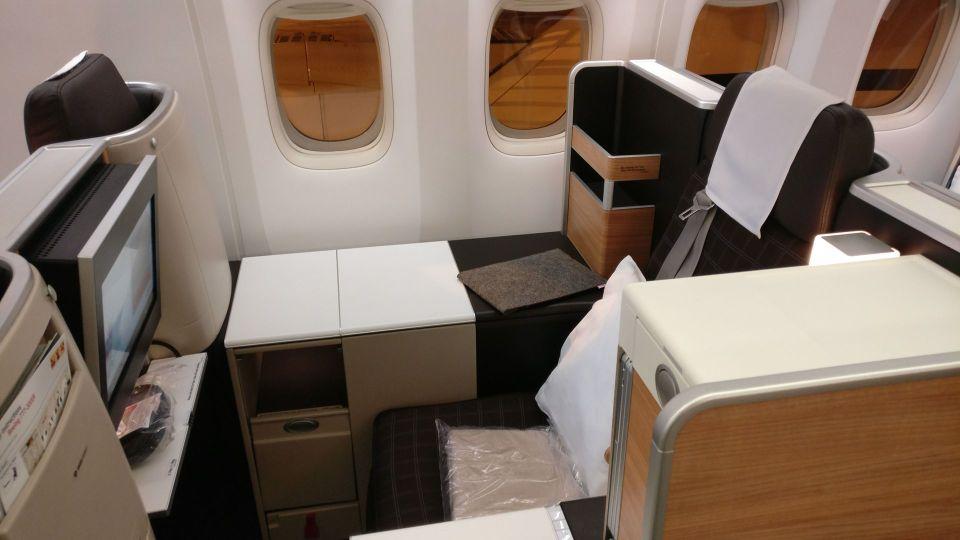 Swiss Business Class Boeing 777 10