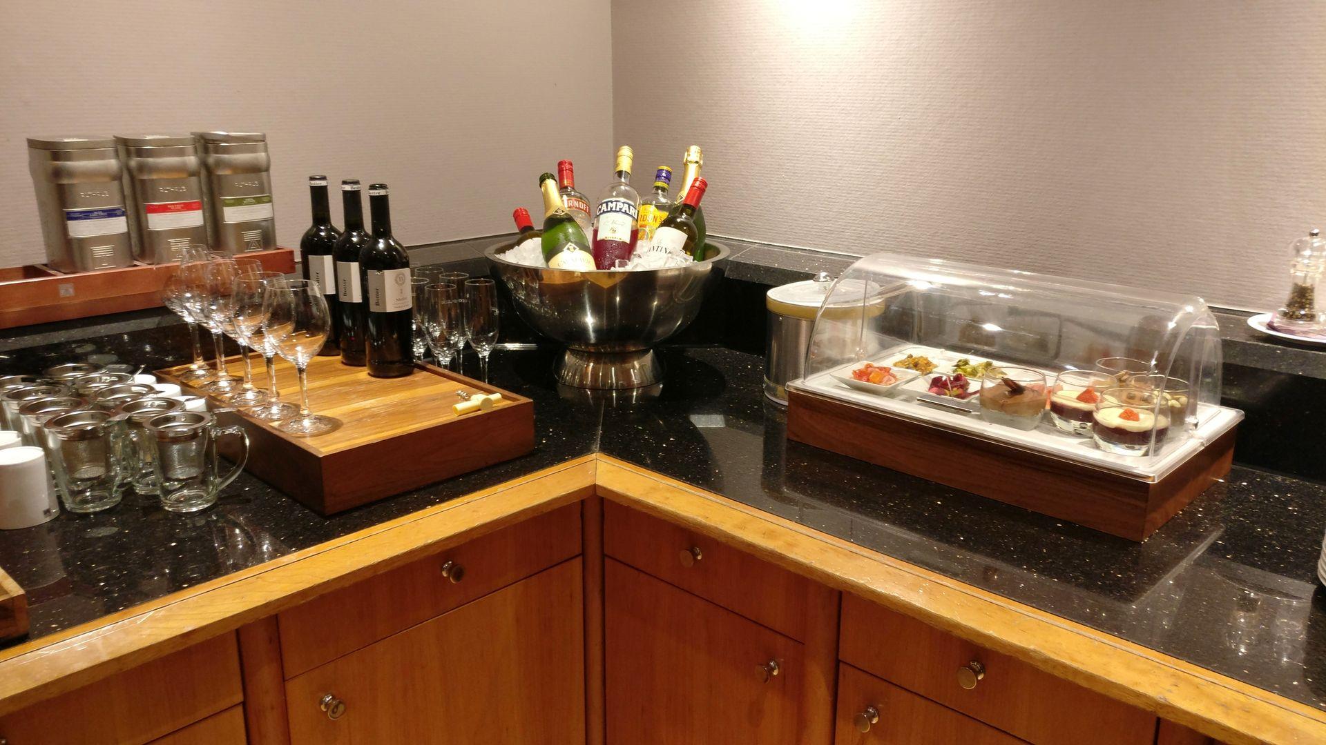 Crowne Plaza Hamburg City Center Club Lounge Buffet