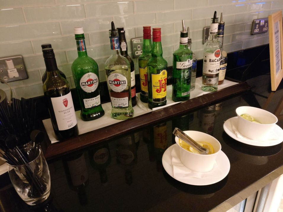 Hilton London Heathrow Terminal 5 Executive Lounge Dinner