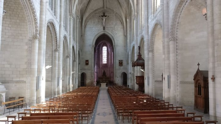 La Trinite Church Angers