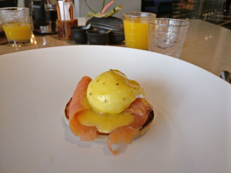 The Chedi Muscat Breakfast