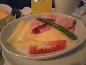 LATAM Business Class Boeing 767 Breakfast