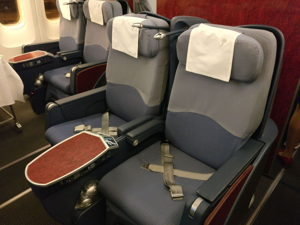 LATAM Business Class Boeing 767 Seat