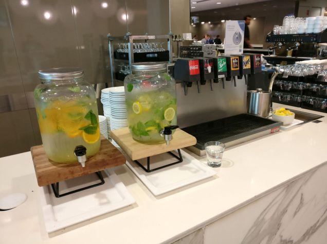 Qantas Business Lounge Melbourne Buffet
