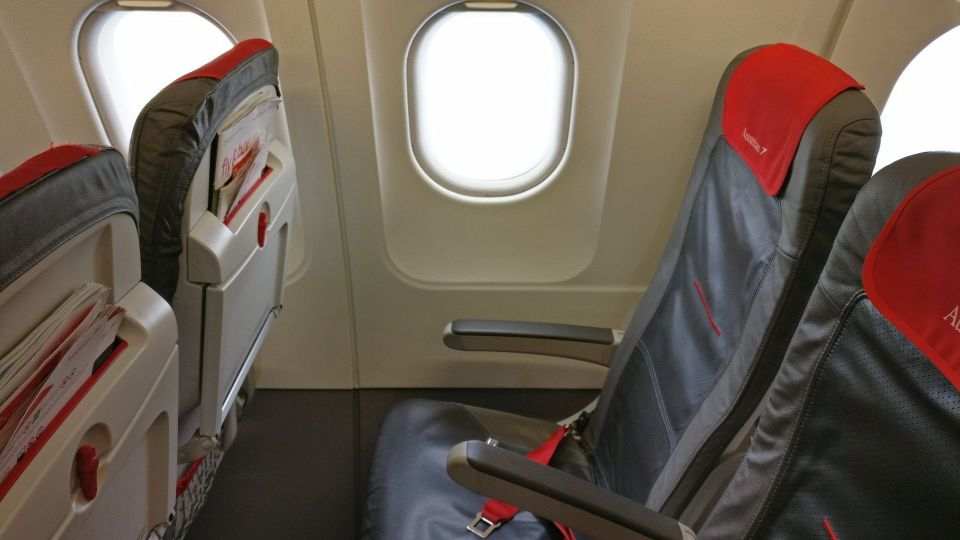 Austrian Airlines regional Economy Class Seating