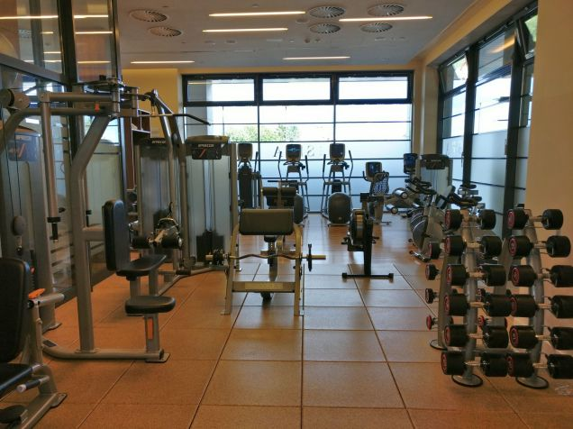 DoubleTree Warsaw Convention Centre Gym