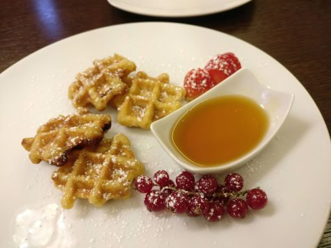 Hilton Berlin Executive Lounge Breakfast