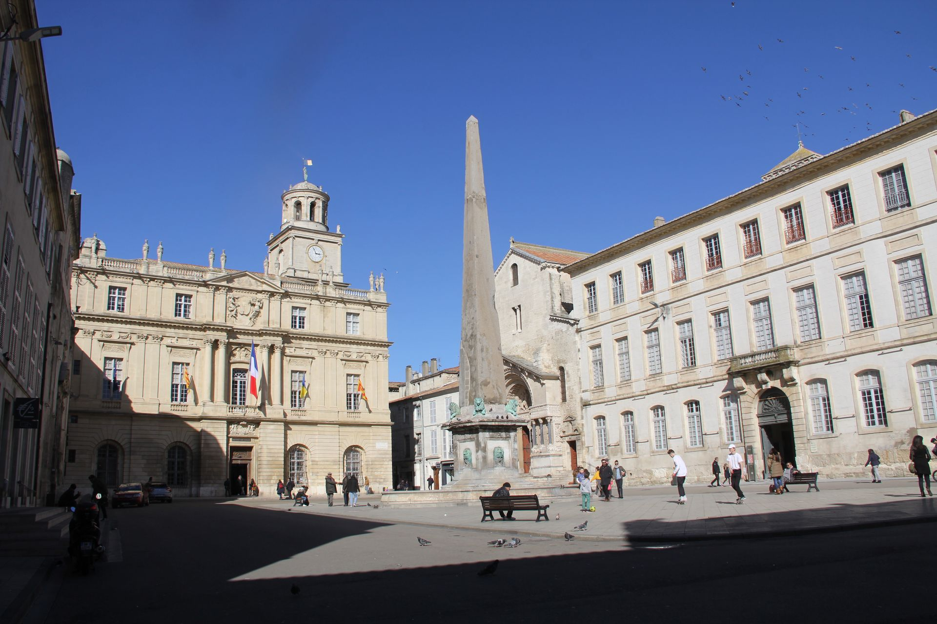 Place de la Republique Arles
