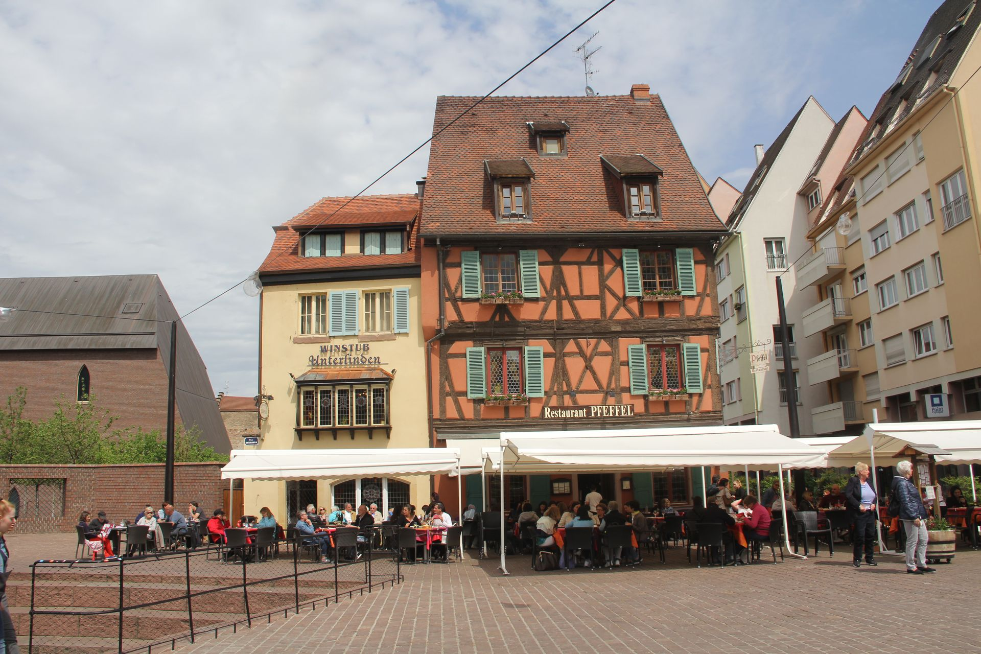 Timbered Houses Colmar