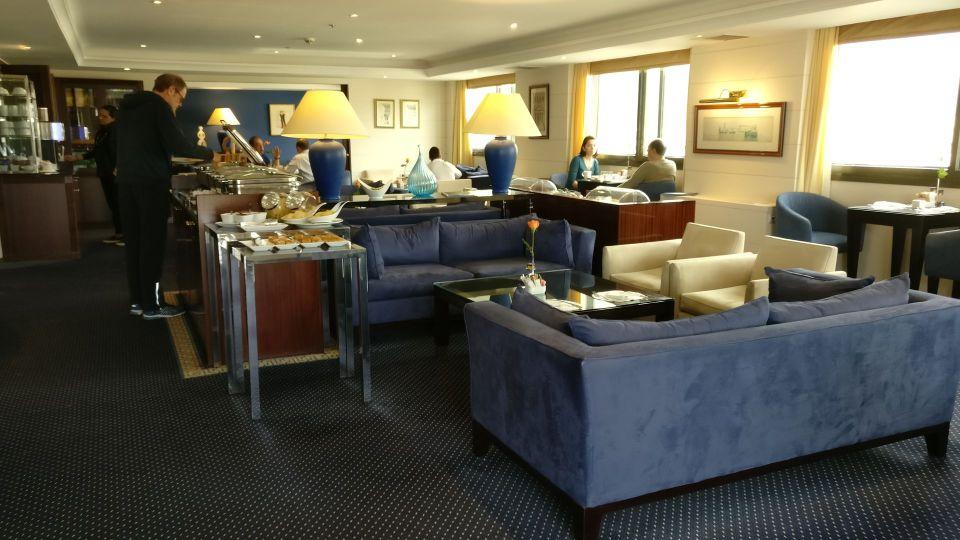 InterContinental Athens Athenaeum Club Lounge