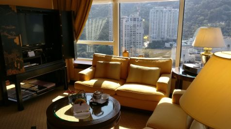 Conrad Hong Executive Peak Suite Living Room